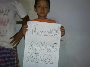 thanksandromeda