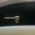Pesawat antariksa cassini dijatuhkan di saturnus