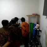 Kunjungan Asesor BAN PT Dr Parno ke Ruang Falak Pusat Tarjih UAD