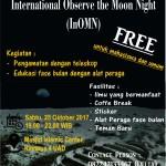 International Observation the Moon Night (InOMN).