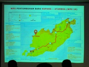 Lokasi Gunung Timau, NTT
