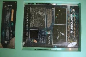 ter mengenai Rasi Bintang Pisces dengan tulisan bahasa Thailand.