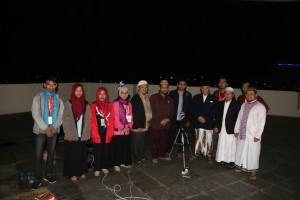 WAREK III  dan PP Tarjih dan Tajdid Muhammadiyah melakukan pengamatan di lantai 10 kampus 4 UAD didampingi oleh KS ANDROMEDA